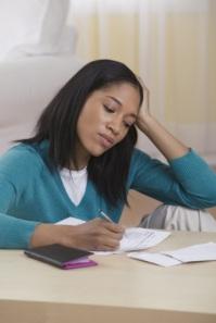 black-woman-paying-bills